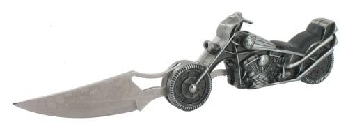 Couteau Moto Lampe