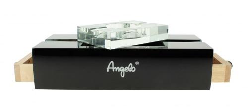 Cendrier Cigare Angelo Laqué Noir