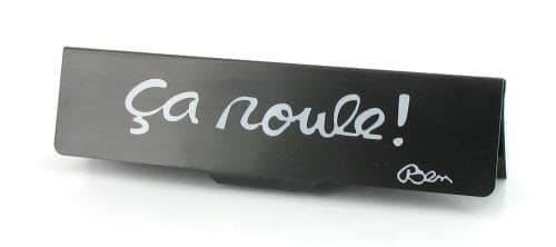 """Etui sign� Ben pour papier � rouler slim """"�a roule!"""""""
