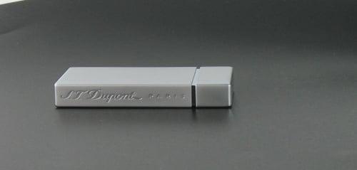 Briquet S.T Dupont Ligne 8 Laqué Gris