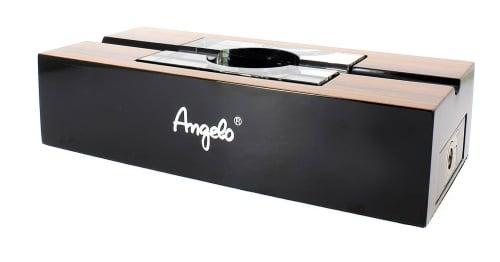 Cendrier Cigare Angelo Laqué Bois et noir