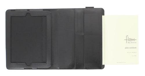Housse ipad Flex Filofax Noire A5