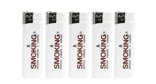 5 briquets Electroniques Smoking.fr