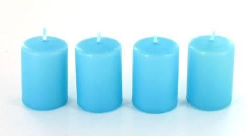 bougies anti tabac rondes mini bleues x4 4 25. Black Bedroom Furniture Sets. Home Design Ideas