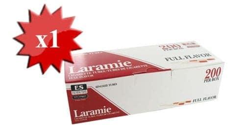Boite de 200 tubes Laramie avec filtre