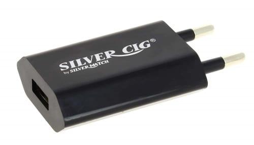 Chargeur E cigarette EGO Plat Noir