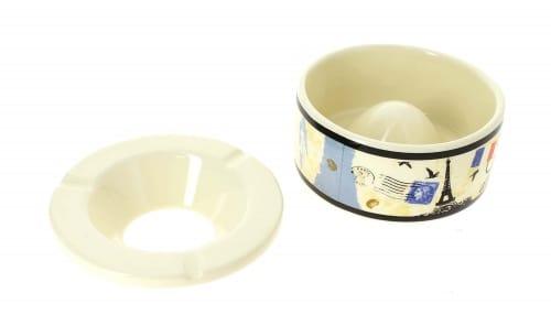 Cendrier c�ramique Caf� France