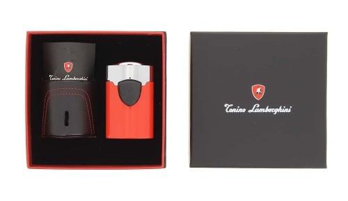 Briquet de Table Lamborghini Rouge