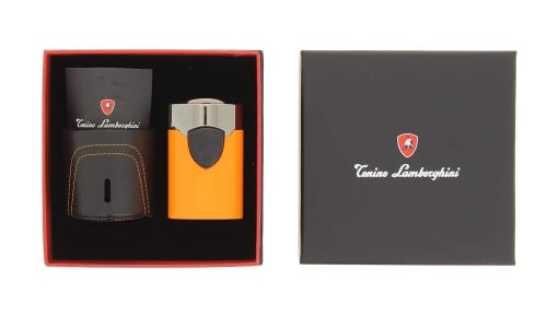 Briquet de Table Lamborghini Orange