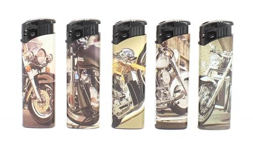 5 Briquets Electroniques Moto
