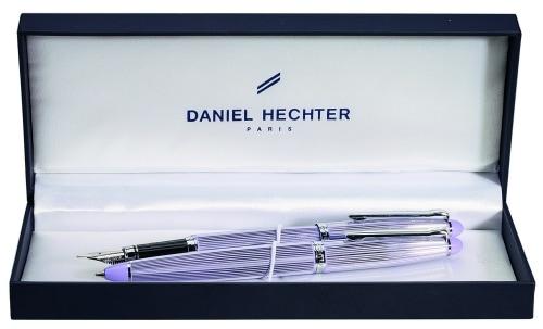 Parure stylo Daniel Hechter Paris Lavande