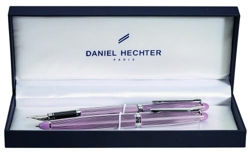 Parure stylo Daniel Hechter Paris Mauve