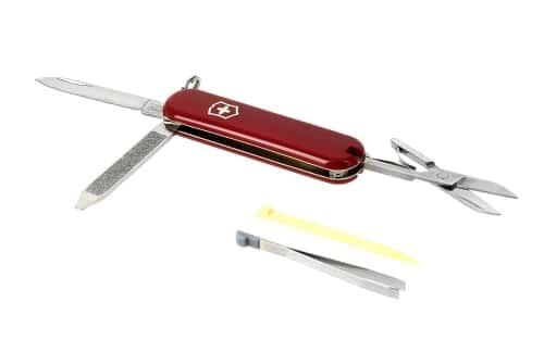 Coffret Maglite Super Mini et couteau suisse Rouge