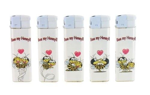 Briquets Unilite Electroniques Honey Bee x 5