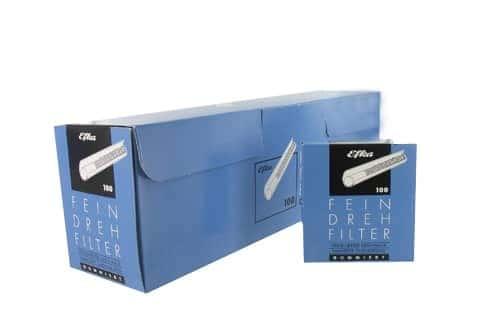 Filtres Efka 8mm autocollants x 20 boites
