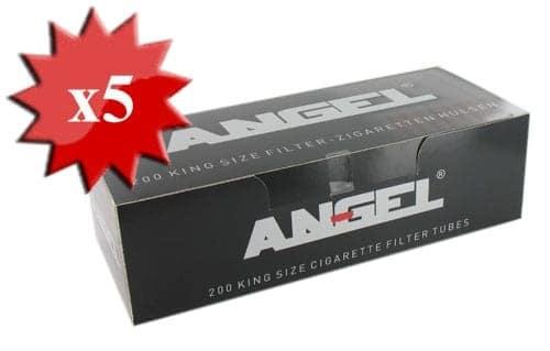 Boite de 200 tubes Angel avec filtre x 5