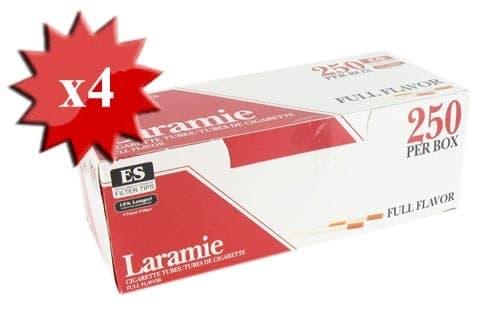 Boite de 250 tubes Laramie avec filtre x 4