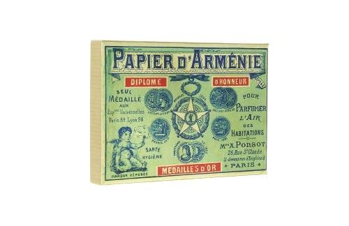 Papier d'Arm�nie Coffret Vintage 1900 et ses 12 carnets