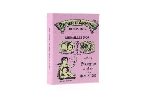 Papier d'Arménie Coffret Vintage Rose - 6 carnets