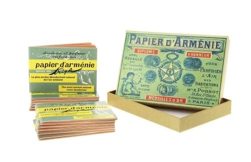 Papier d\'Arm�nie Coffret Vintage 1900 et ses 12 carnets