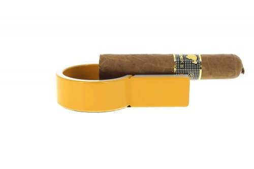 Cendrier cigare mini jaune