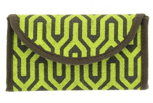 Blague à Paquet de Tabac Kimeko Naturelle Verte