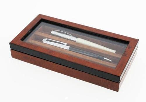 Coffret 3 stylos Loupe d'Orme