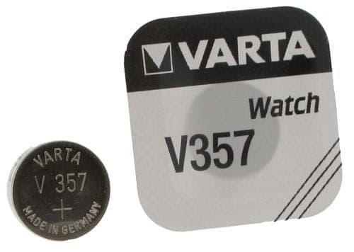 Pile Oxyde d'Argent Varta V357
