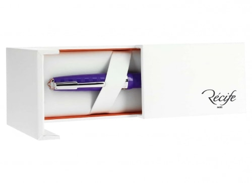 Stylo Récife Riviera Chronos VIchy Traveller Violet plume