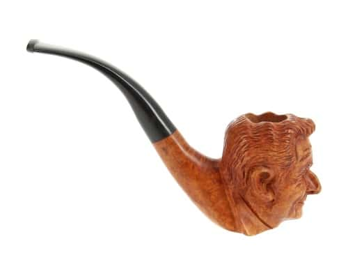 Pipe de Cogolin Sculpt�e Sarkozy