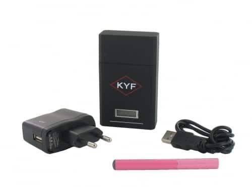 Cigarette �lectronique rose KYF Kit Box