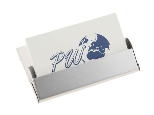 Porte cartes de visite Silver
