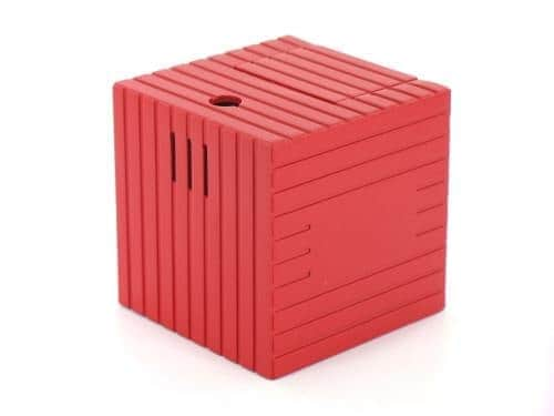 Briquet de table Cube Rouge