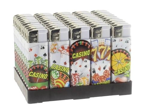 50 Briquets Electroniques Casino