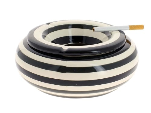 Cendrier C�ramique XL Noir