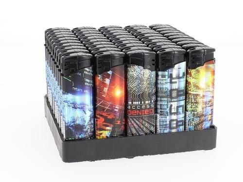 50 Briquets Electroniques Futur