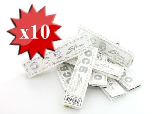 Papier à rouler OCB Slim Premium Blanc x 10
