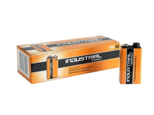 Pile 9V Duracell Procell x 10