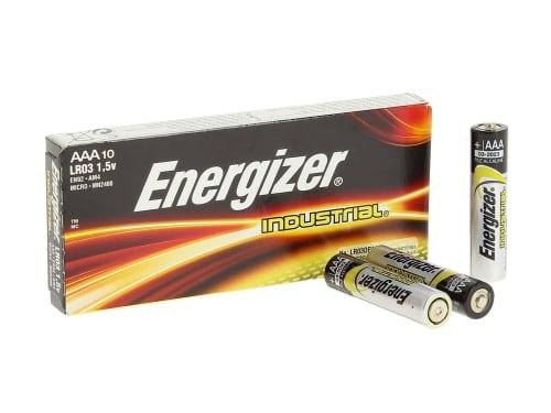 Pile LR03 AAA energizer industriel x 10