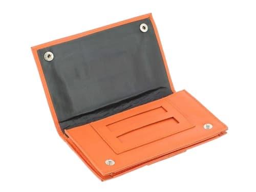 Blague à Tabac Cuir CC009 Orange