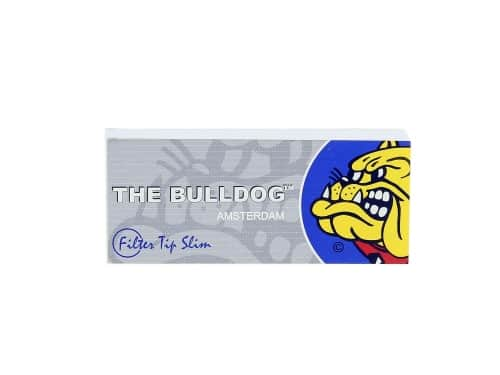 Filtres en carton The Bulldog perforés x 50