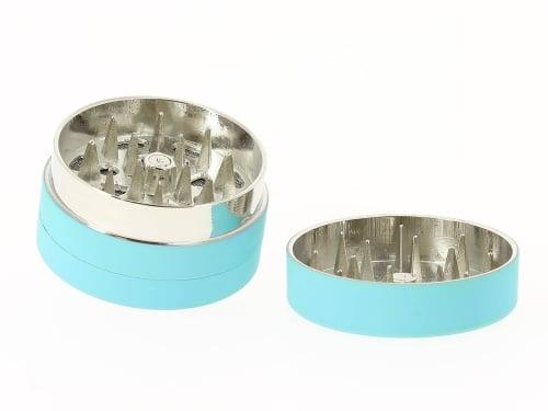 Grinder Bleu soft touch 3 parties 40mm
