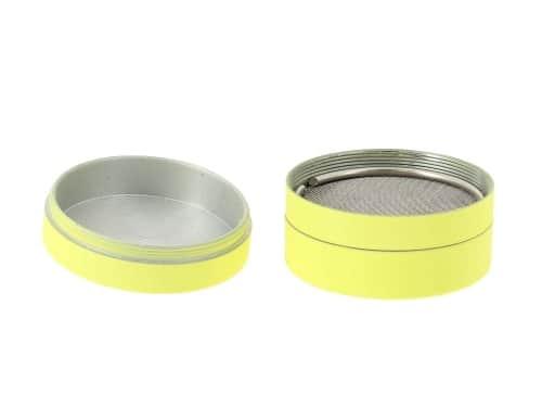 Grinder Jaune Soft Touch 3 parties 40mm
