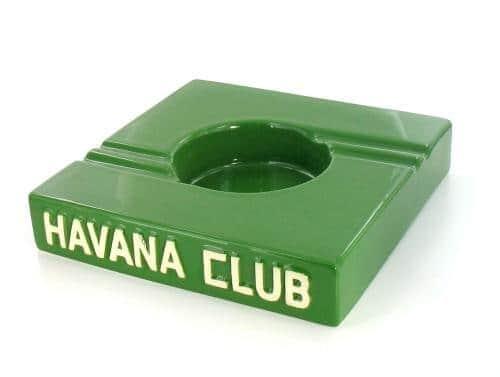 Cendrier Havana Club Carré Vert Double