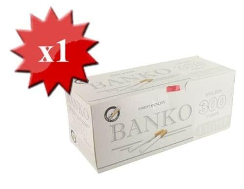 Boite de 300 tubes Banko Light