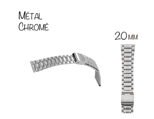 Bracelet Montre M�tal 20mm