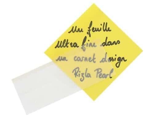 Papier à rouler Rizla + Slim Pearl Blanc x 10
