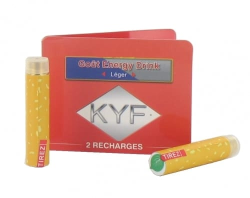 2 Recharges Go�t Energy Drink nicotine l�ger Cigarette KYF