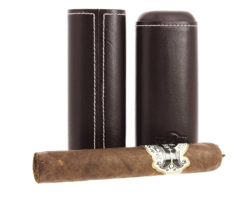 Etui cigare Art & Volutes El Macho marron