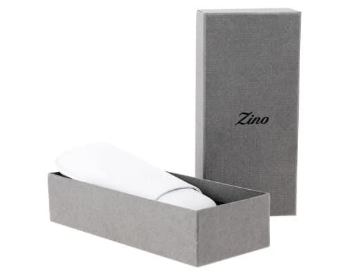 Etui � cigare Zino R-2 cuir blanc